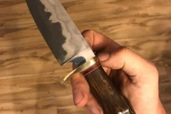Straight-hunter-stainless-steel-san-mai