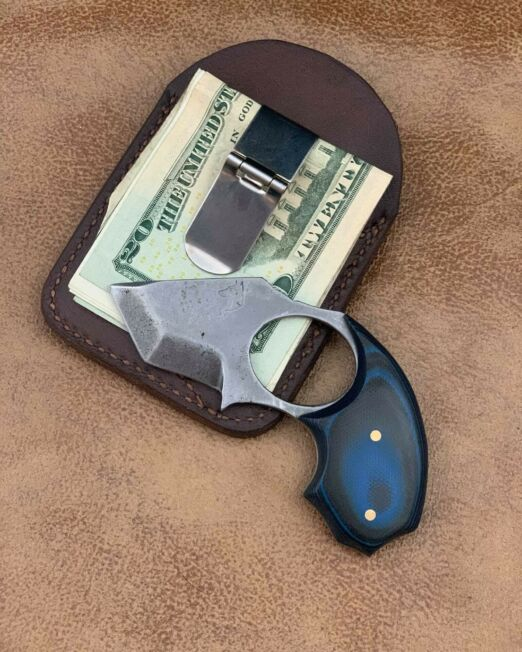 money clip dew claw back